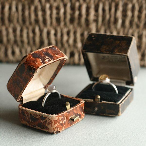 Leader of Men vintage ring boxes
