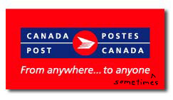CanadaPost sometimes