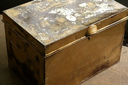 antique legal file box
